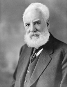 The first inventor of the metal detector was Alexander Graham Bell in 1881