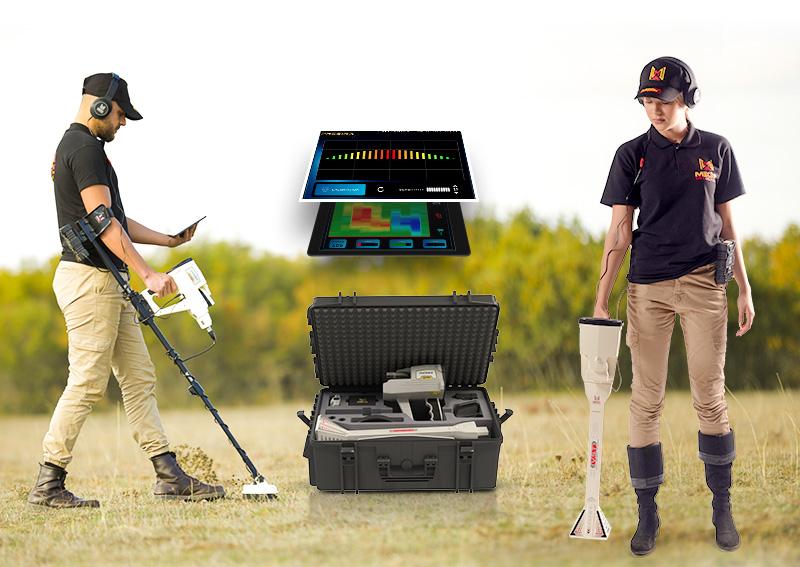Phoenix metal detector is a 3D ground scanner